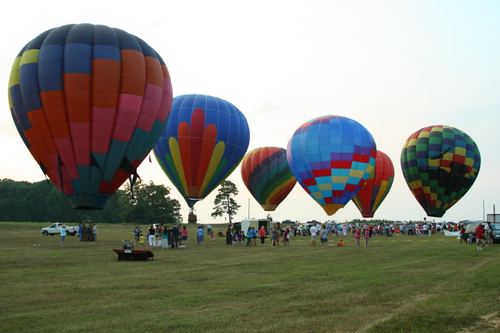 Free Kids Hot Air Balloon Rides