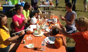 Harvest Days Festival Pumpkin Painting